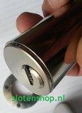 cilinder in adapter