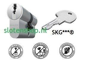 DT1 certificaat cilinder MAUER SKG***® (NIEUW)