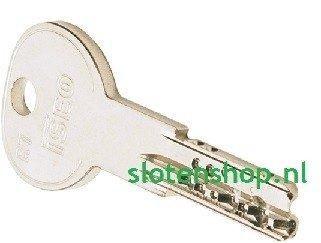 R7 ISEO  EBF platte sleutel na- of meebesteld