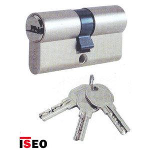 R6 Iseo cilinder SKG**® met keersleutel