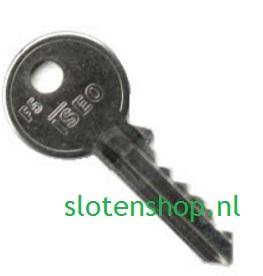 F5 ISEO sleutel 8209 na- of meebesteld