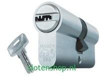 Mauer skg** cilinder E1 met plat